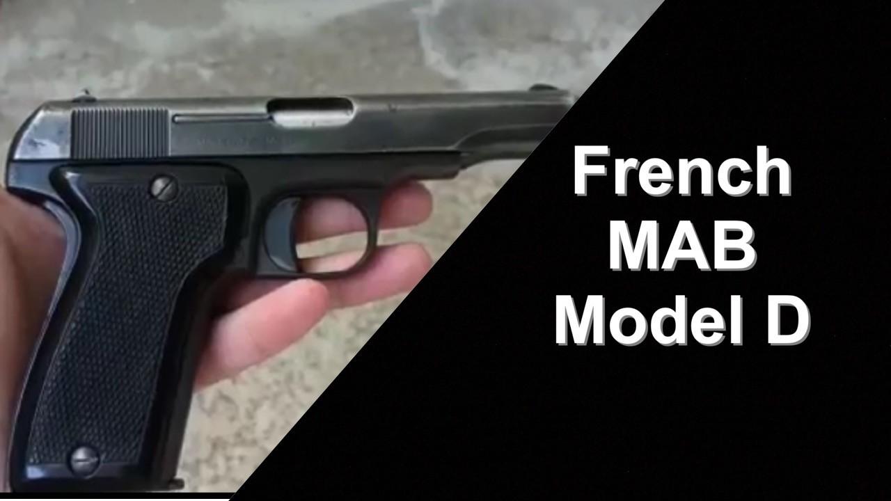 French MAB Model D - Modele D