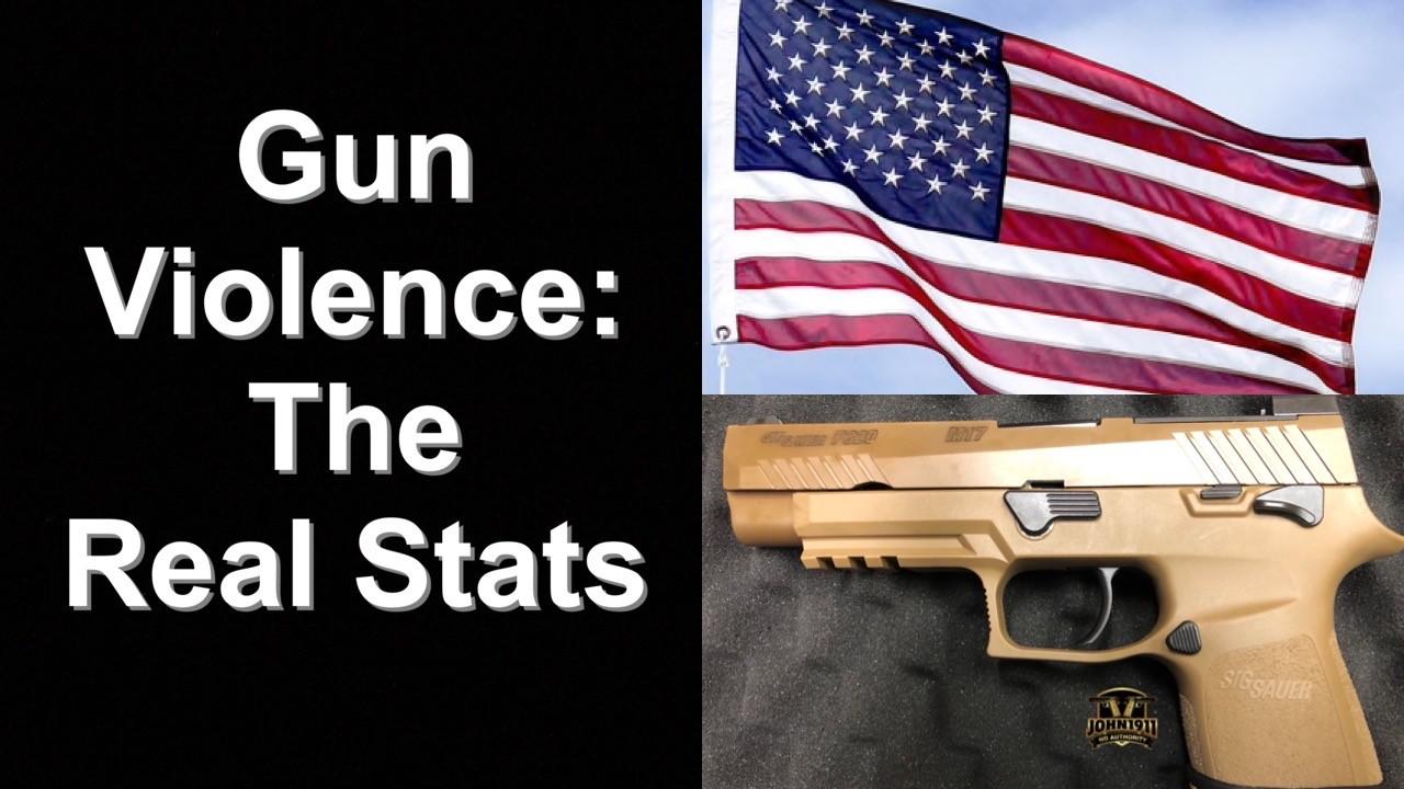 Gun Violence The Real Stats