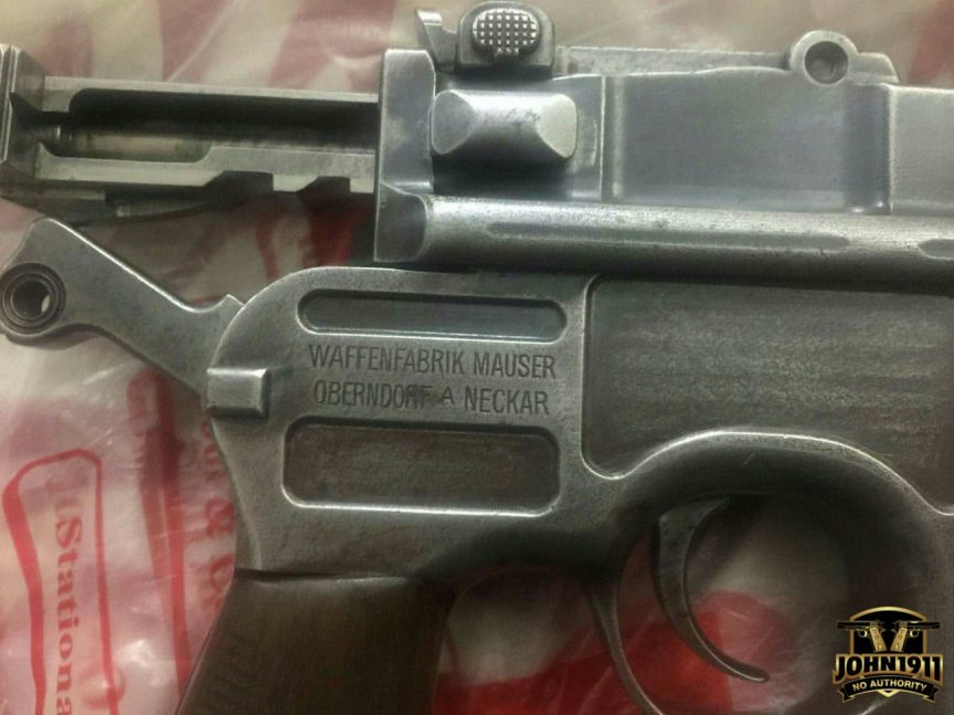 C96 Pistols in Khyber Pass region of Pakistan.