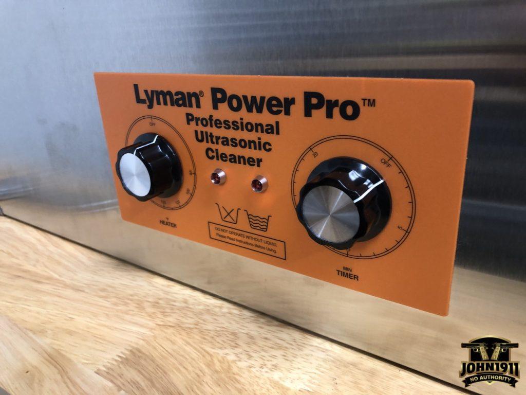 Lyman Power Pro Sonic Tank Cleaner.