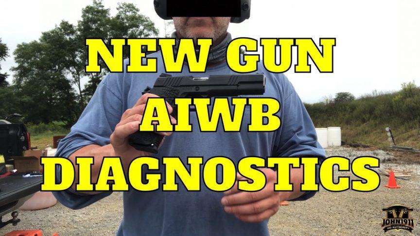New Gun AIWB Diagnostics eXperior 1911