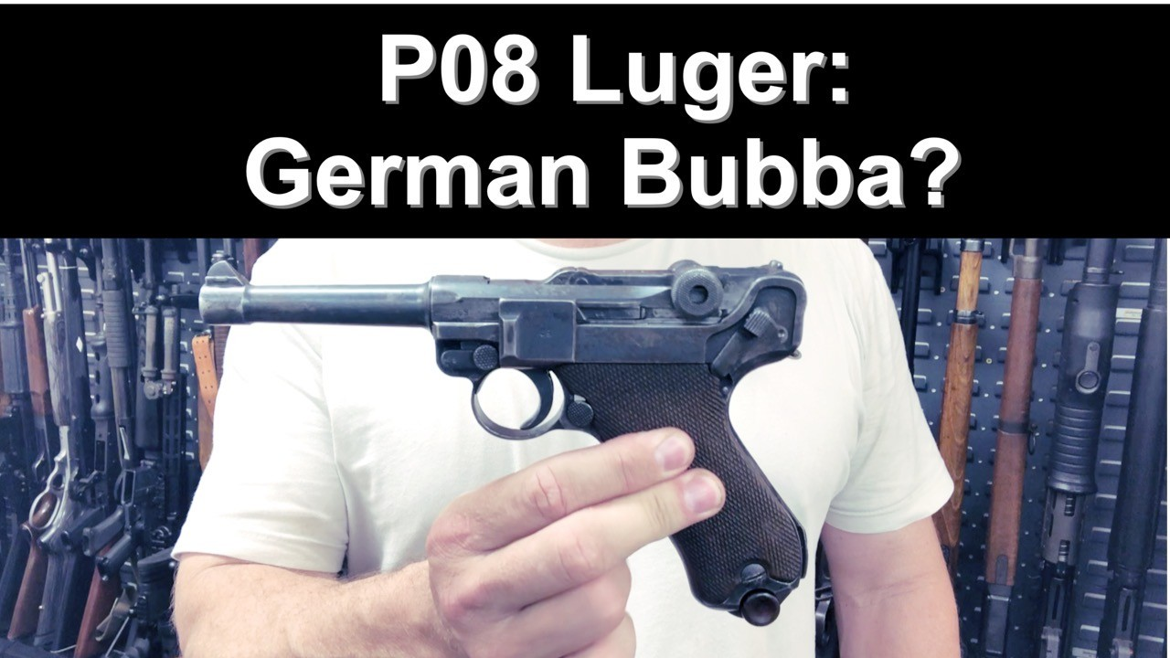 German P08 Luger. Mismatch pistol. 42 Luger Replacement parts.