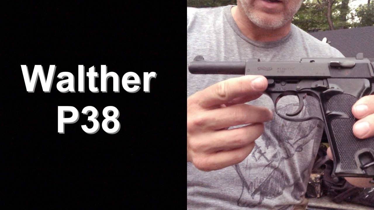 Walther P38 - Post War Production.