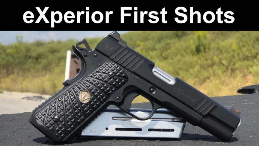 eXperior 1911 First Shots