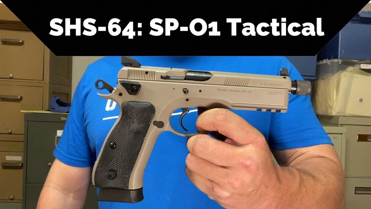 CZ SP-01 Tactical