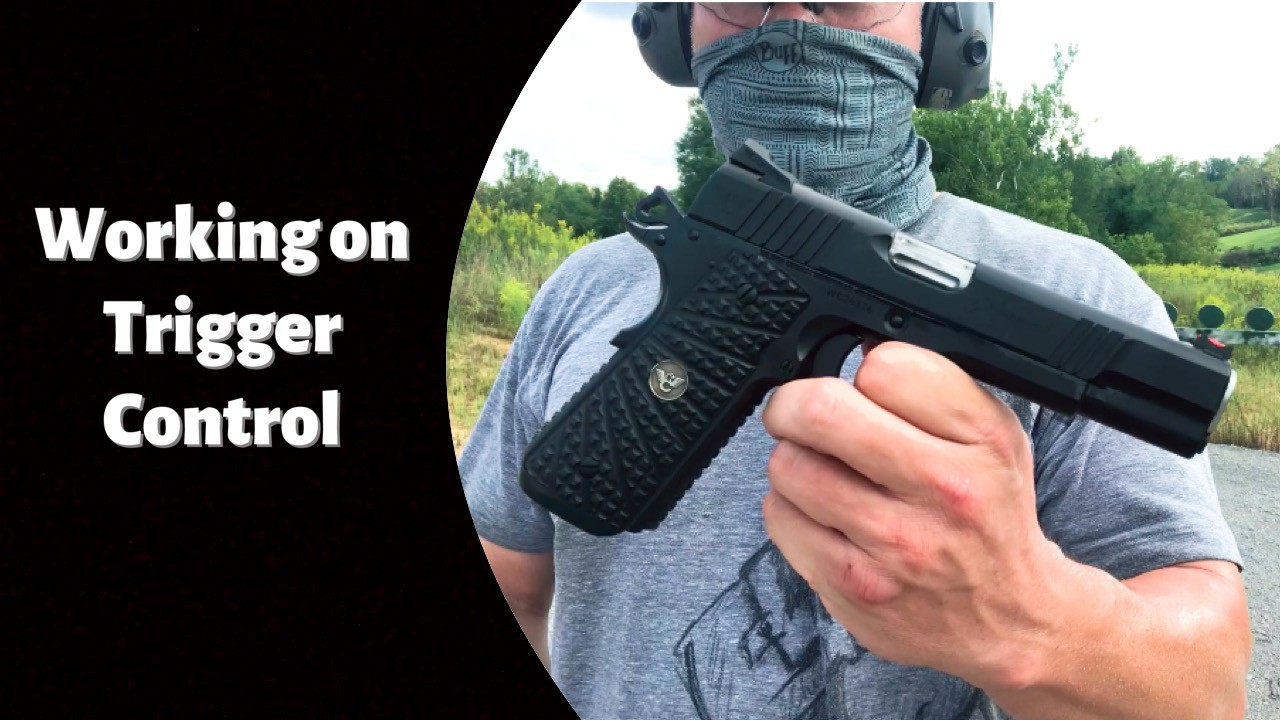 Wilson Experior 9mm 1911 Trigger Pull