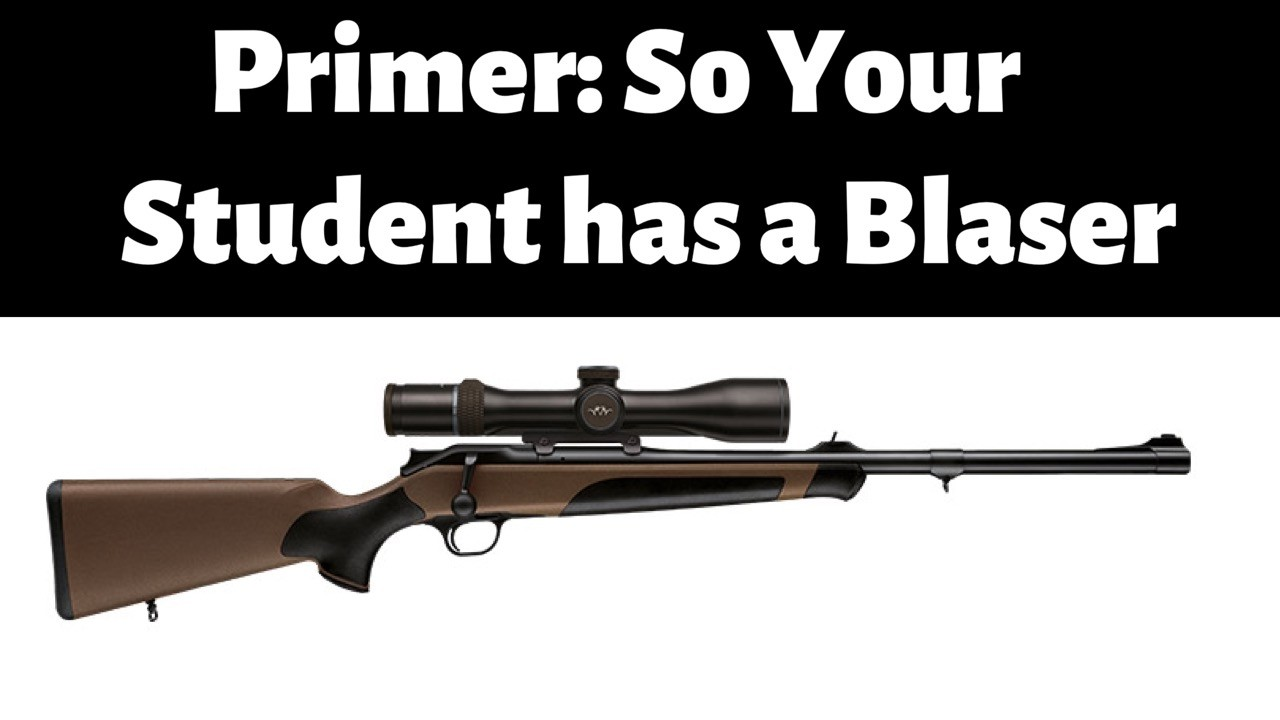 Primer So Your Student has a primer
