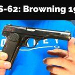 SHS-62: Browning 1922