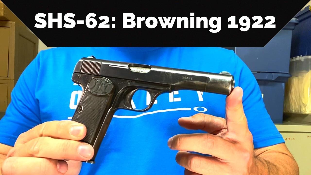 SHS-62 Browning 1922
