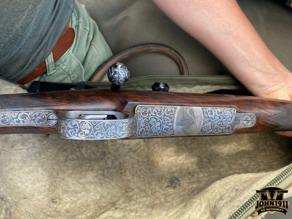 Mauser Safari Rifle - Tanzania - Britt Longoria