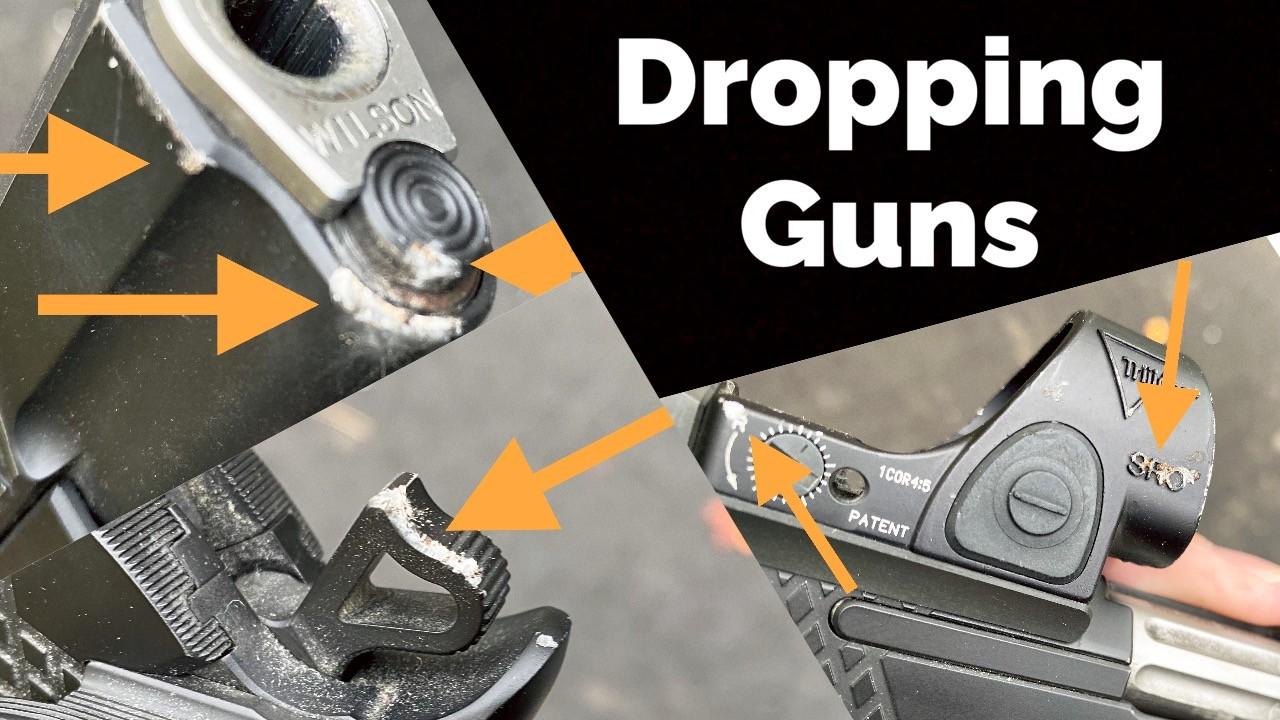 Dropping Guns