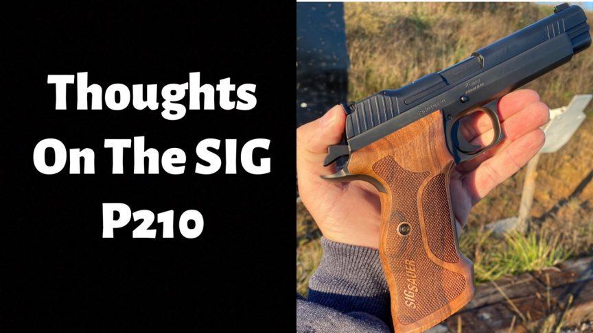SIG P210 Target.