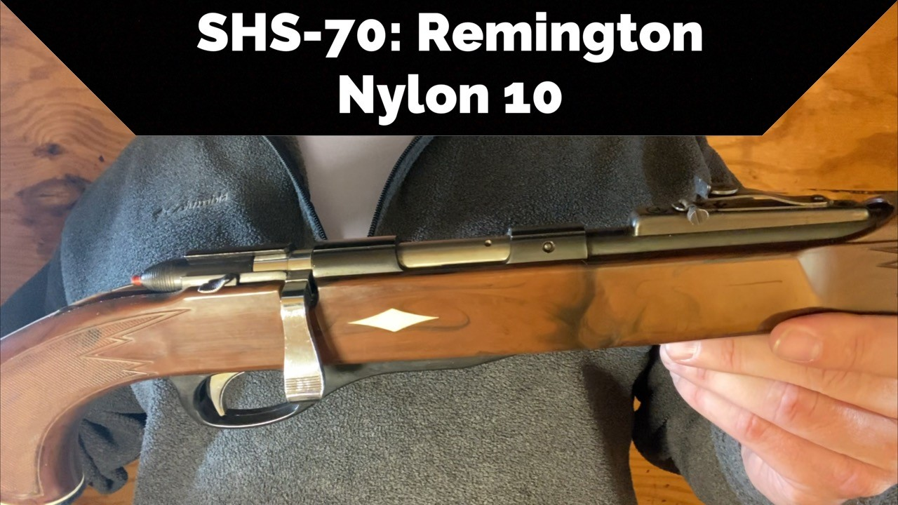 Remington Nylon 10 Rimfire Rifle.