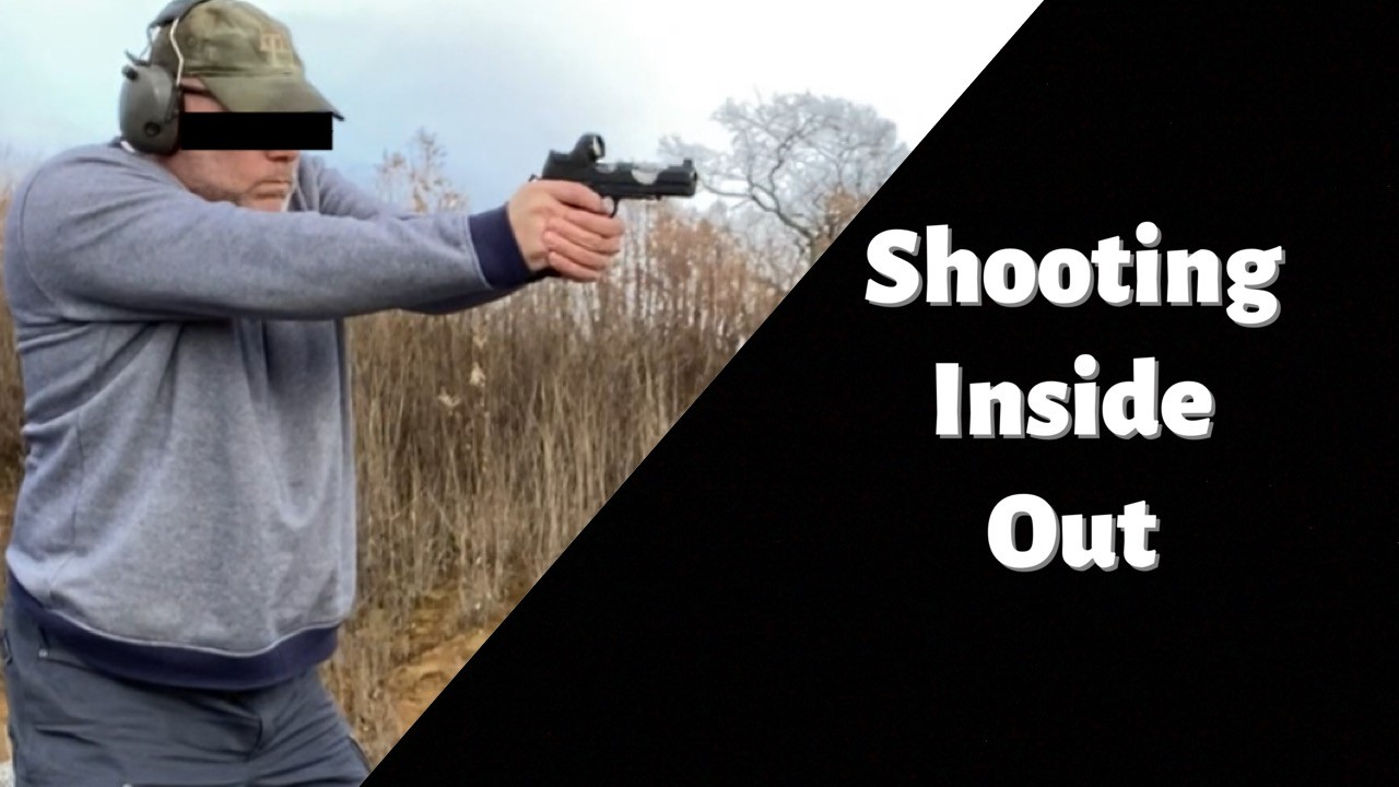 Shooting Inside Out. Wilson EDC X9L.