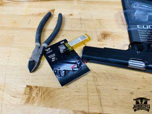 Fiberoptic Rod replacement