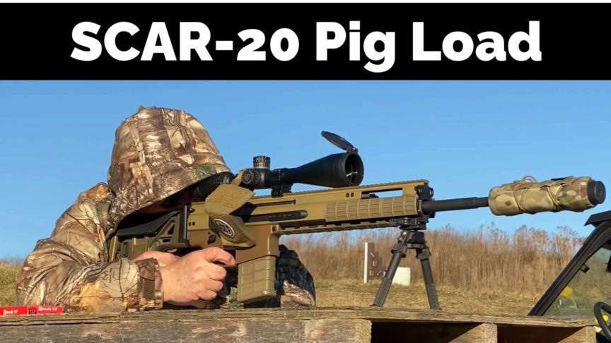 Zeroing Hunting Load - SCAR-20
