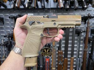 Wilson P320 Grip Module texture.