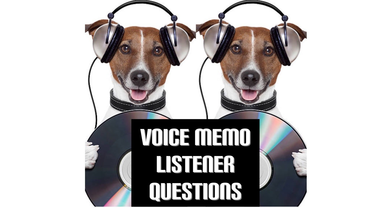 A Call for listener questions.