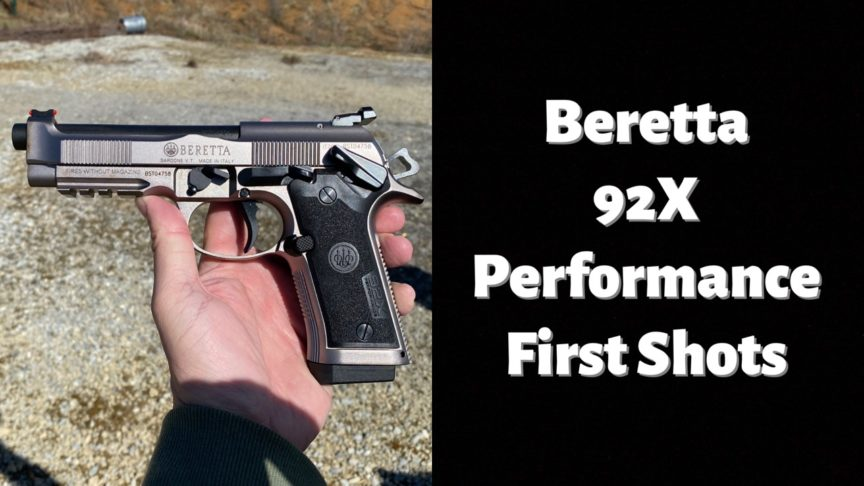 Beretta 92x Performance pistol