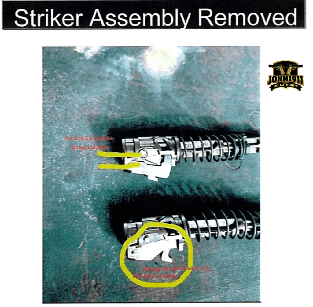 Broken M17 pistols.