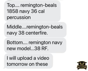 Remington Beals, Remington Beals-Navy, Remington Navy-New Model