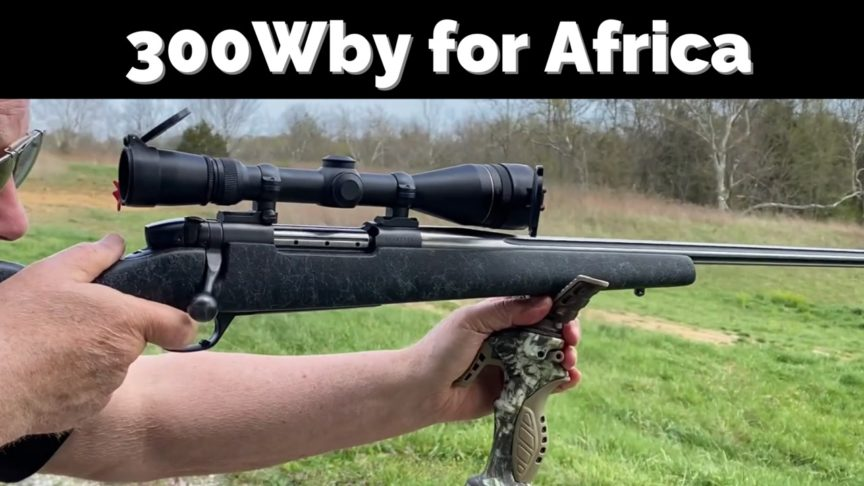 African Hunting Rifle.