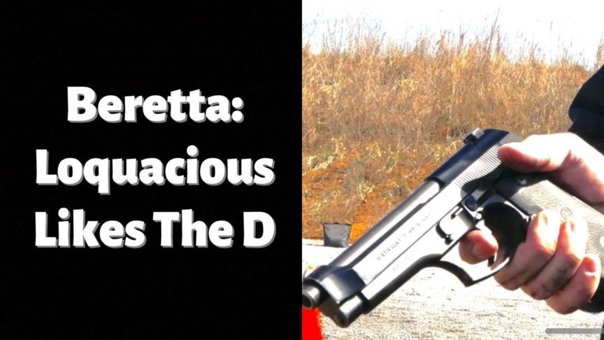 Beretta 92D - loquacious