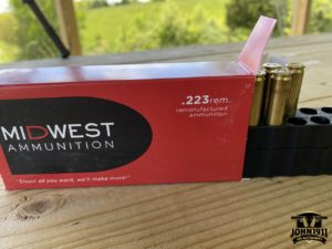 Midwest Reloaded ammo.