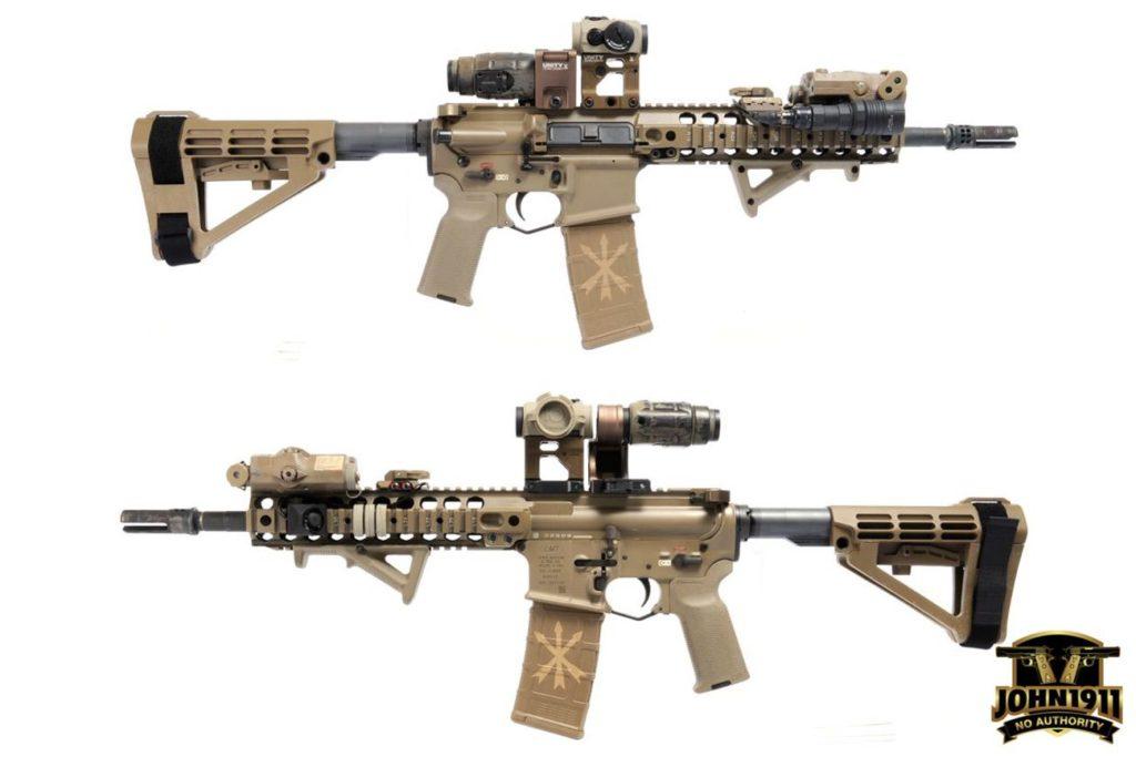 Modern M4 with 1.93 riser .