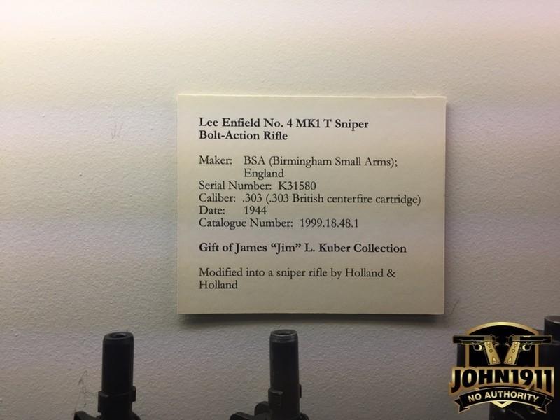 CFM Enfield Sniper info