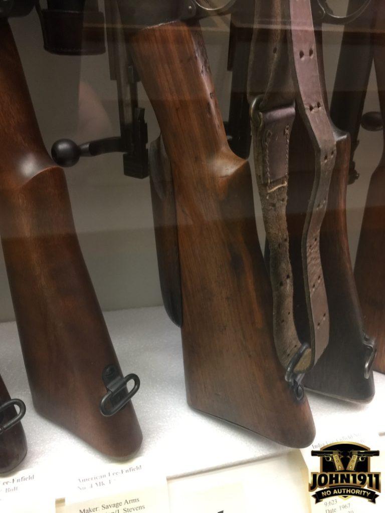 Enfield Sniper Stock