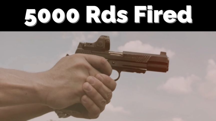 5000 Rounds Fired EDC X9L