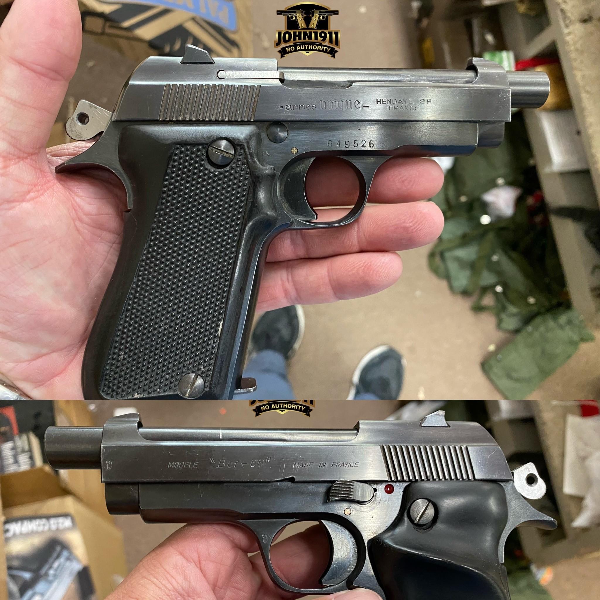 BCF-66 French Pistol.