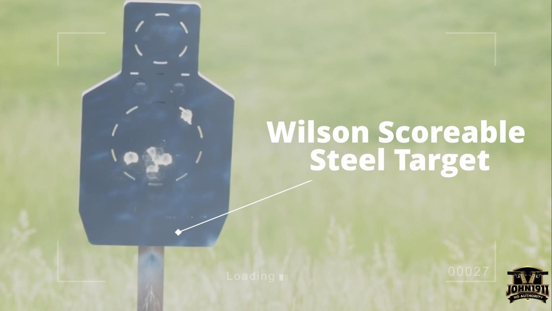 Wilson Scorable Steel Target