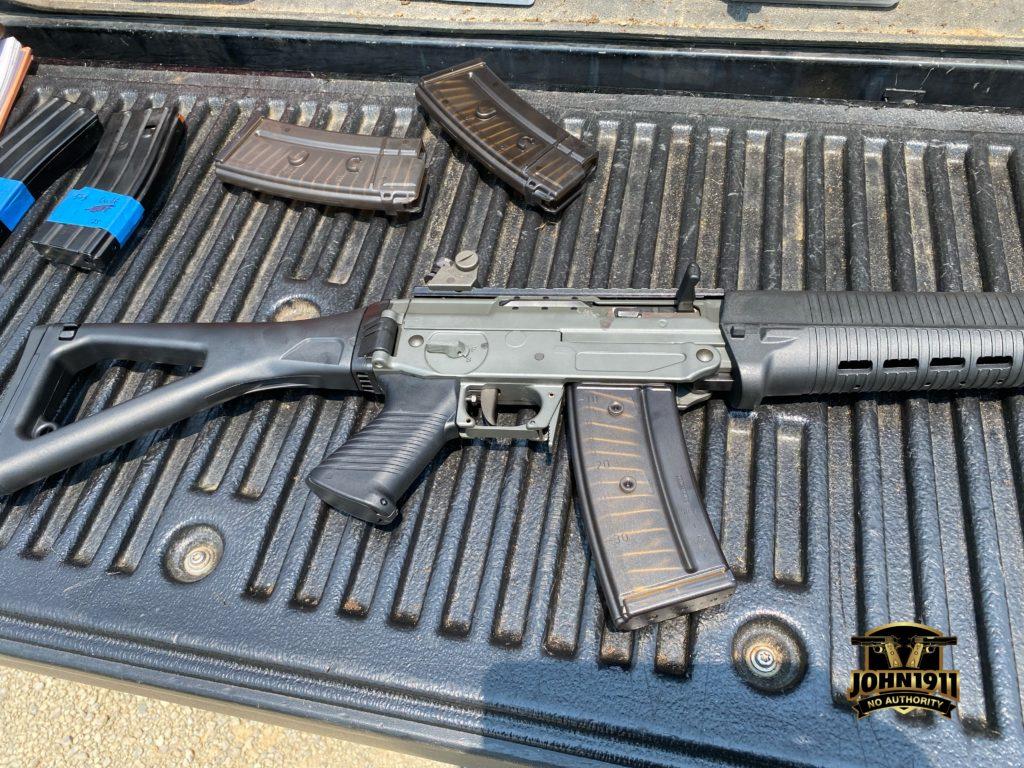 Swiss Service Rifle