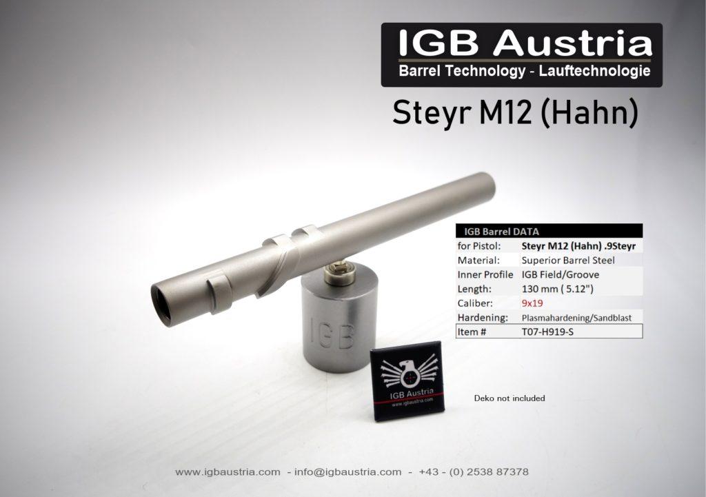 Steyr M12 Barrel