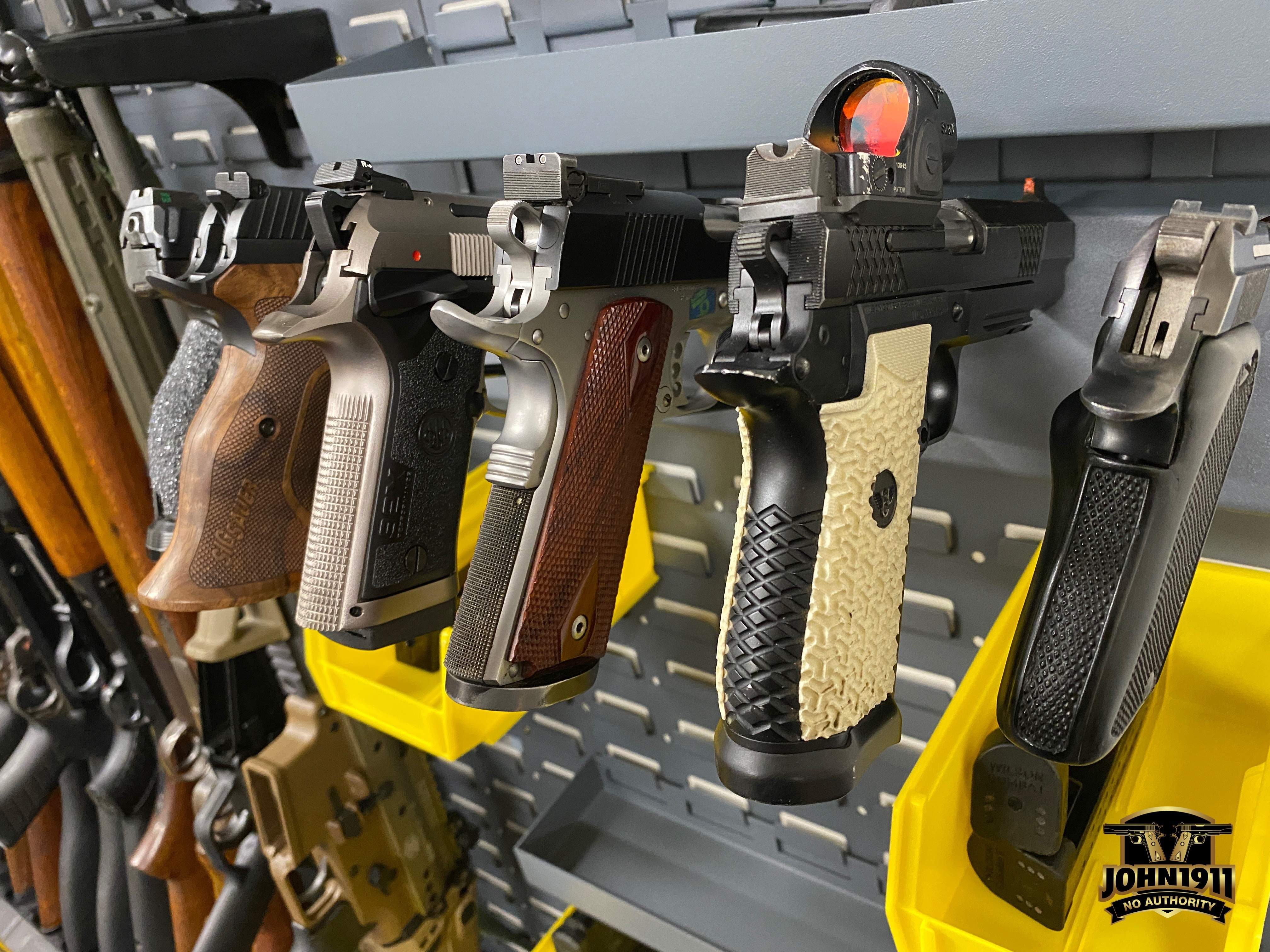 Armory Pistol Rack