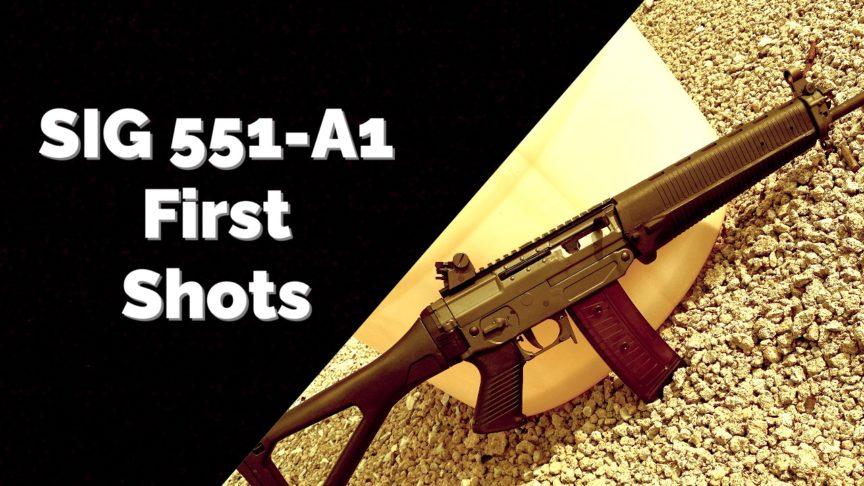 Swiss Rifle SIG 550