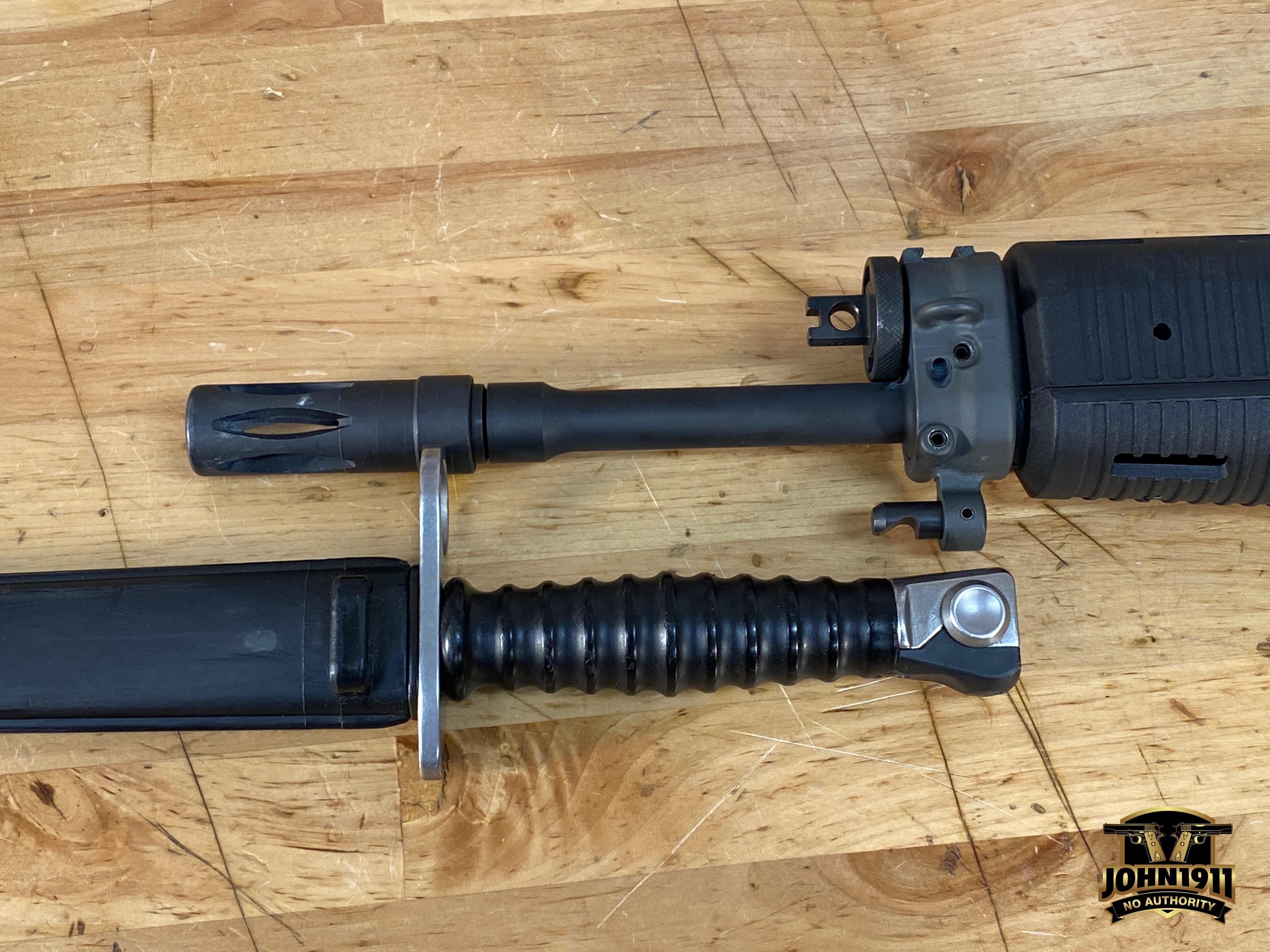 SIG 55x Swiss Bayonet Lug