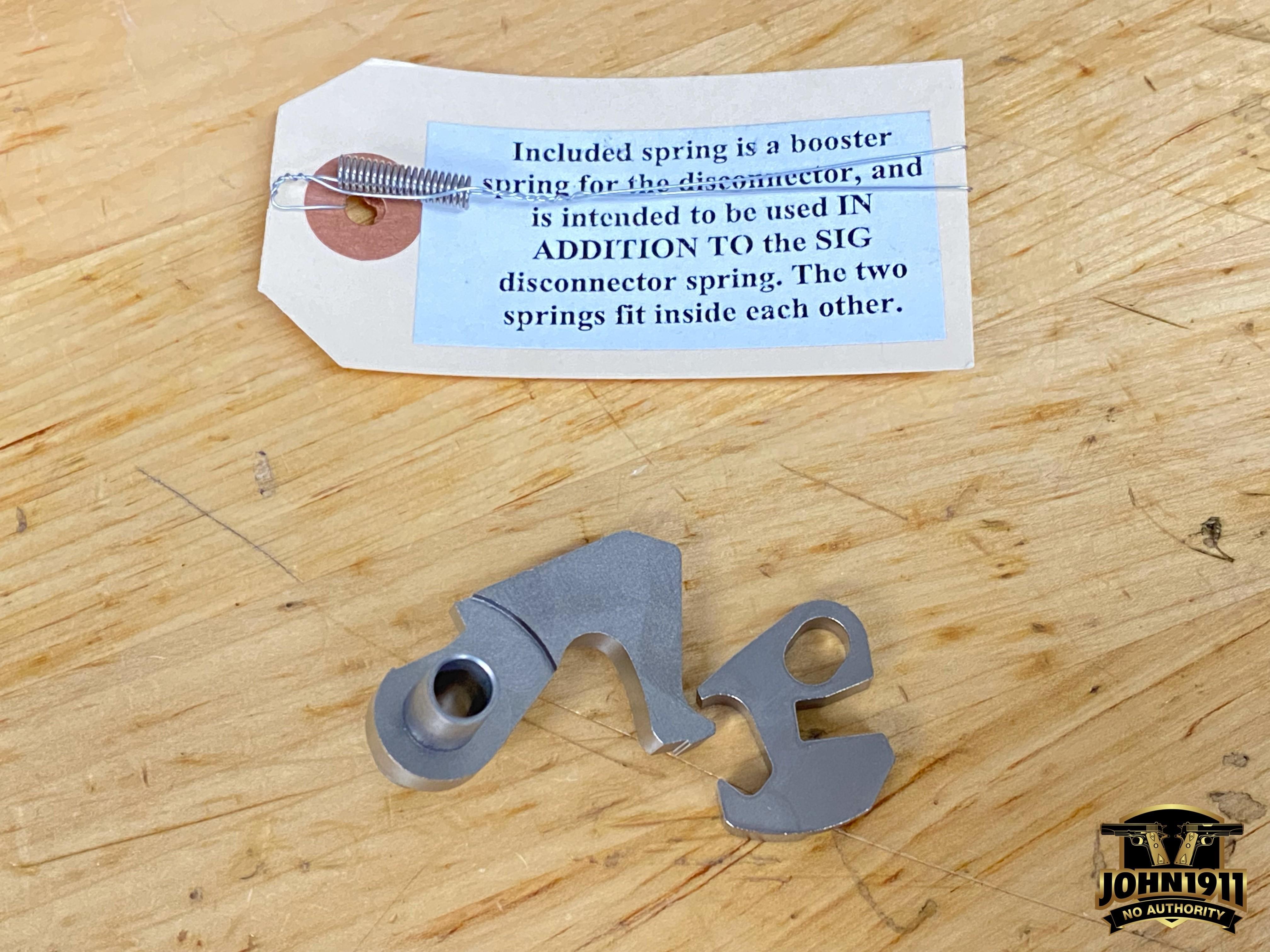 SIG 550 Aftermarket Trigger