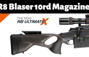 Blaser R8 Ultimate X - 10 Round Magazine.