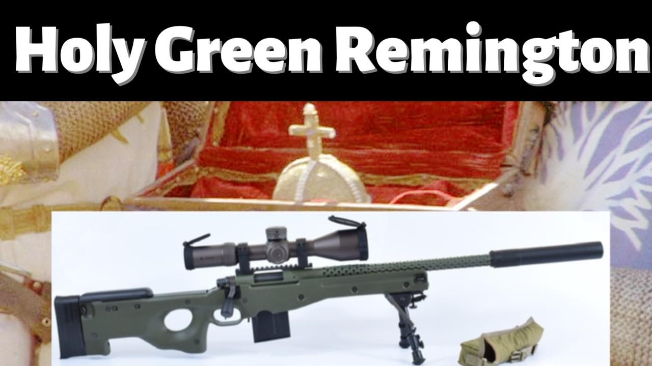 Custom Remington 700.