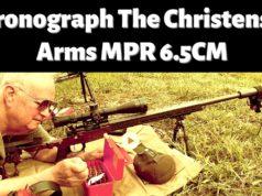 Chronograph Christensen Arms MPR in 6.6 Creedmoor