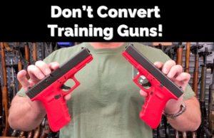 Converting Red Training Glocks