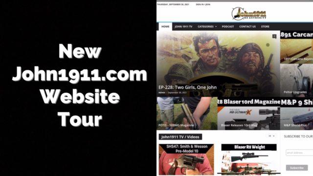 New John1911.com Website Tour.